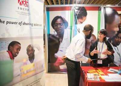 Active discussions were part of Congress life at partner booths