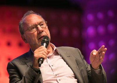 Peter Piot discusses his film 'The Heart of the Matter' focusing on his research in Tropical Health